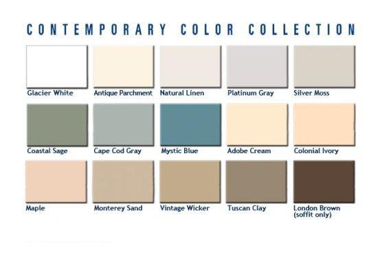 Associated Materials Vinyl Siding Colors Suburban
